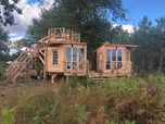 Constructions Sauvages - Cabane-lodge En Gironde
